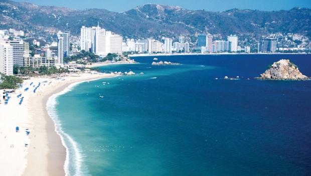 Acapulco, la playa más visitada en México