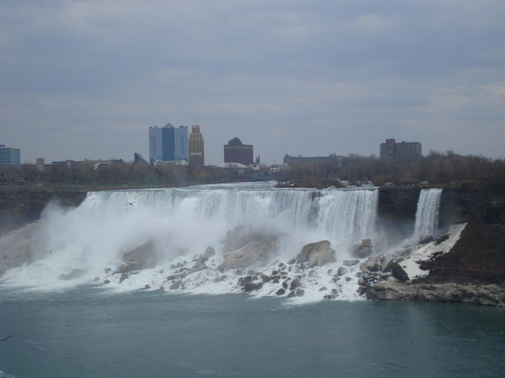 Niagara Falls View en primavera