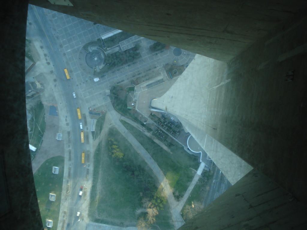 Glass floor en la CN Tower