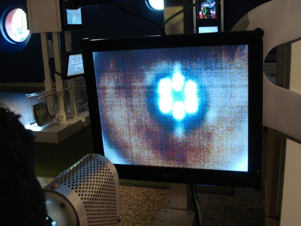 Amplificación de retina en Ontario Science Centre