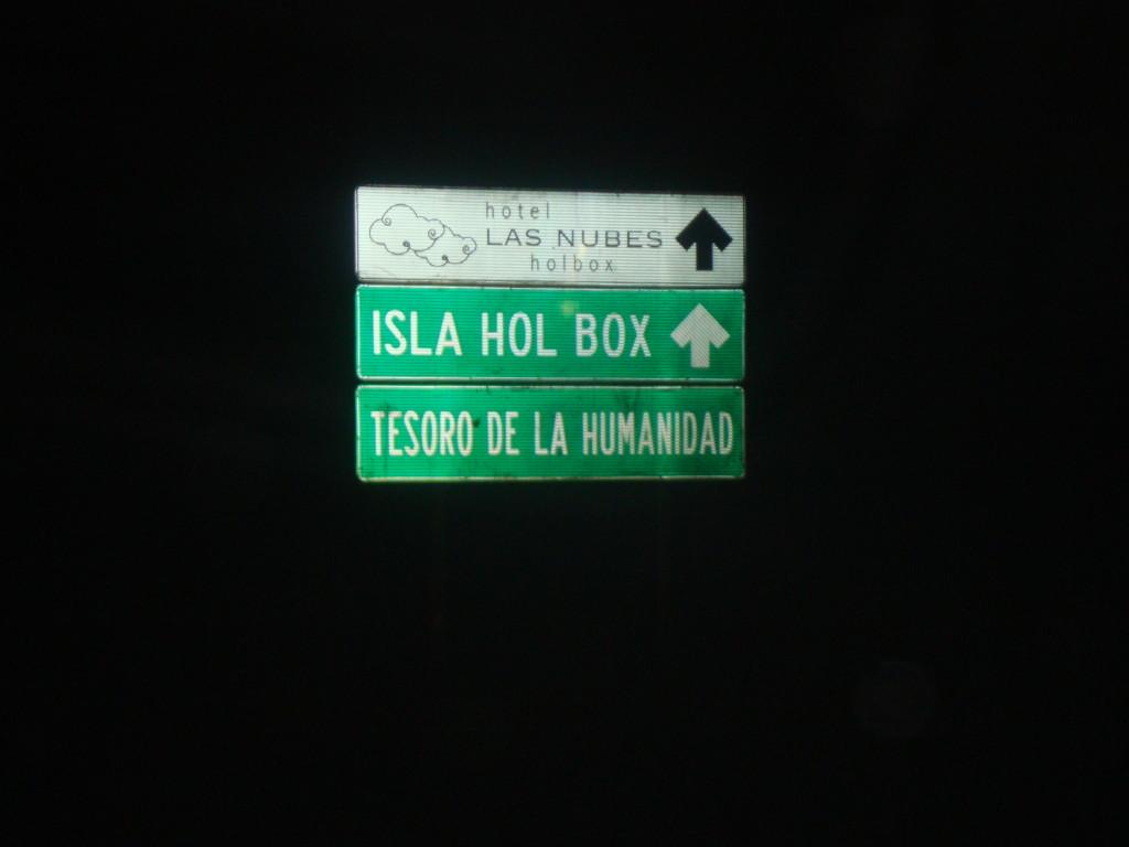 En camino a Chiquilá y Holbox